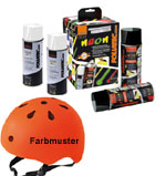 Foliatec SPRÜHFOLIE Neonspray neon-orange 4er Set - einfach wieder abziehbar!