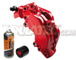 Foliatec Bremssattellack-2K-Spray/Bremssattel-2K-Lackspray ROT, 400 ml