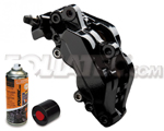 Foliatec Bremssattellack-2K-Spray/Bremssattel-2K-Lackspray SCHWARZ, 400 ml