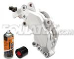 Foliatec Bremssattellack-2K-Spray/Bremssattel-2K-Lackspray WEIß, 400 ml