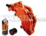 Foliatec Bremssattellack-2K-Spray/Bremssattel-2K-Lackspray ORANGE, 400 ml