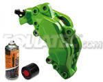 Foliatec Bremssattellack-2K-Spray/Bremssattel-2K-Lackspray POWERGRÜN/grün, 400 m