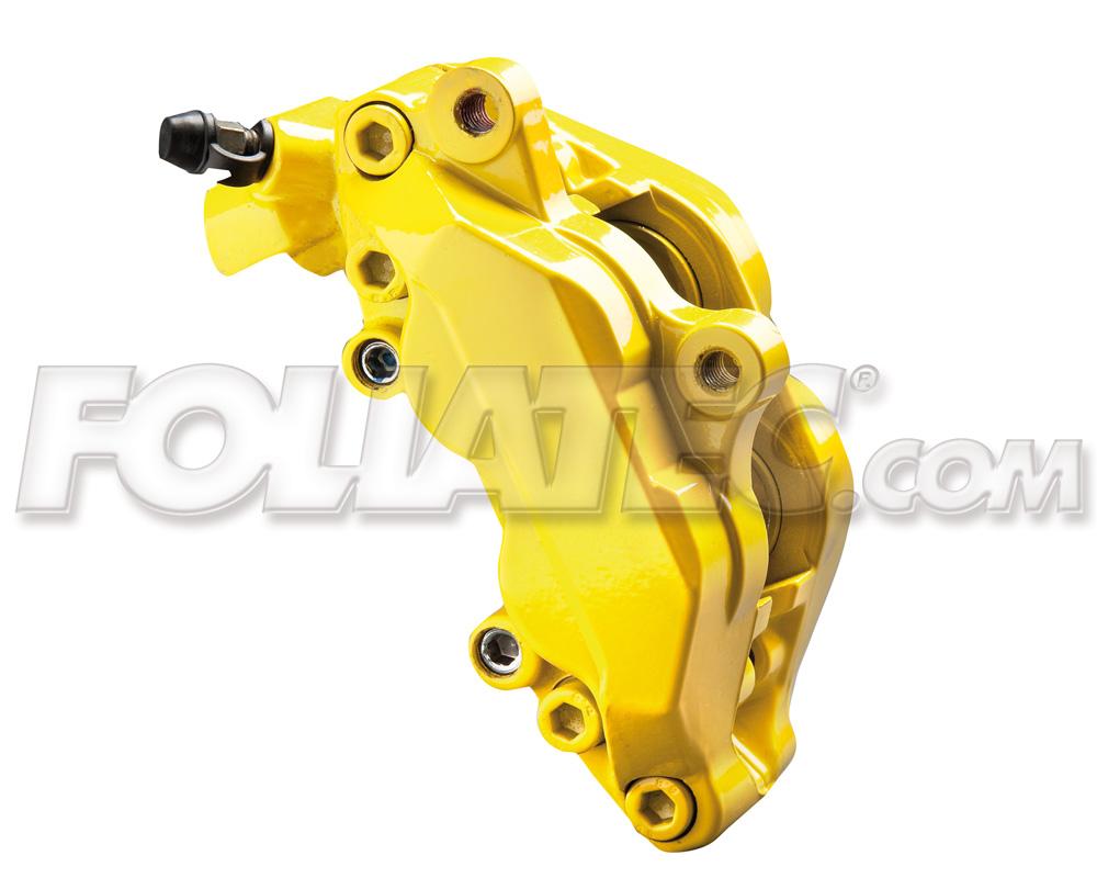 Foliatec Bremssattellack-Set speedgelb/speed yellow (Lack + Bremsenreiniger)