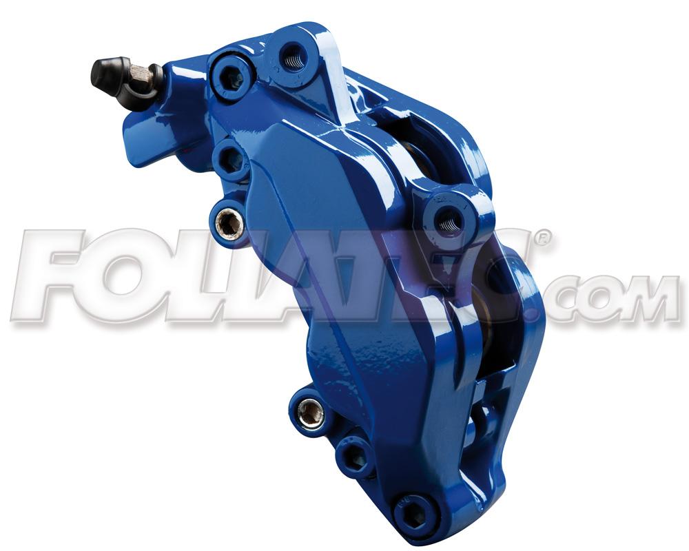 Foliatec Bremssattellack-Set RS-blau/RS blue (Lack + Bremsenreiniger)