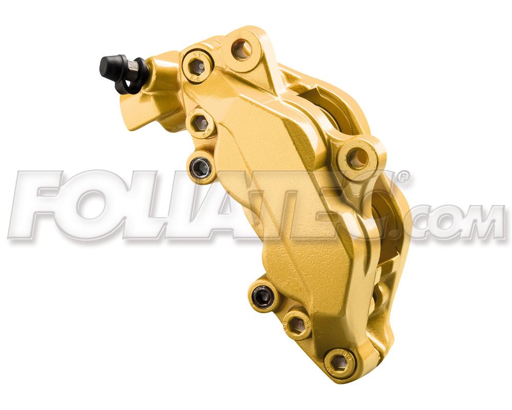 Foliatec Bremssattellack-Set prestige gold metallic (Lack + Bremsenreiniger)