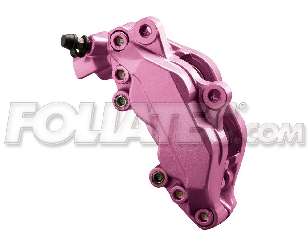 Foliatec Bremssattellack-Set pink metallic (Lack + Bremsenreiniger)