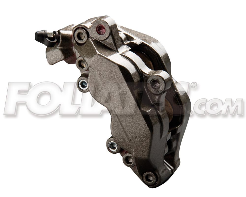 Foliatec Bremssattellack-Set carbon/grau metallic (Lack + Bremsenreiniger)