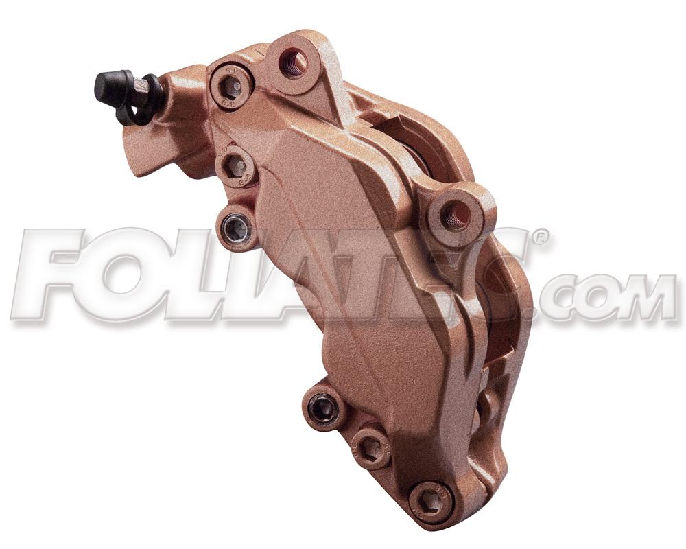 Foliatec Bremssattellack-Set kupfer/vintage copper metallic (Lack + Bremsenrein