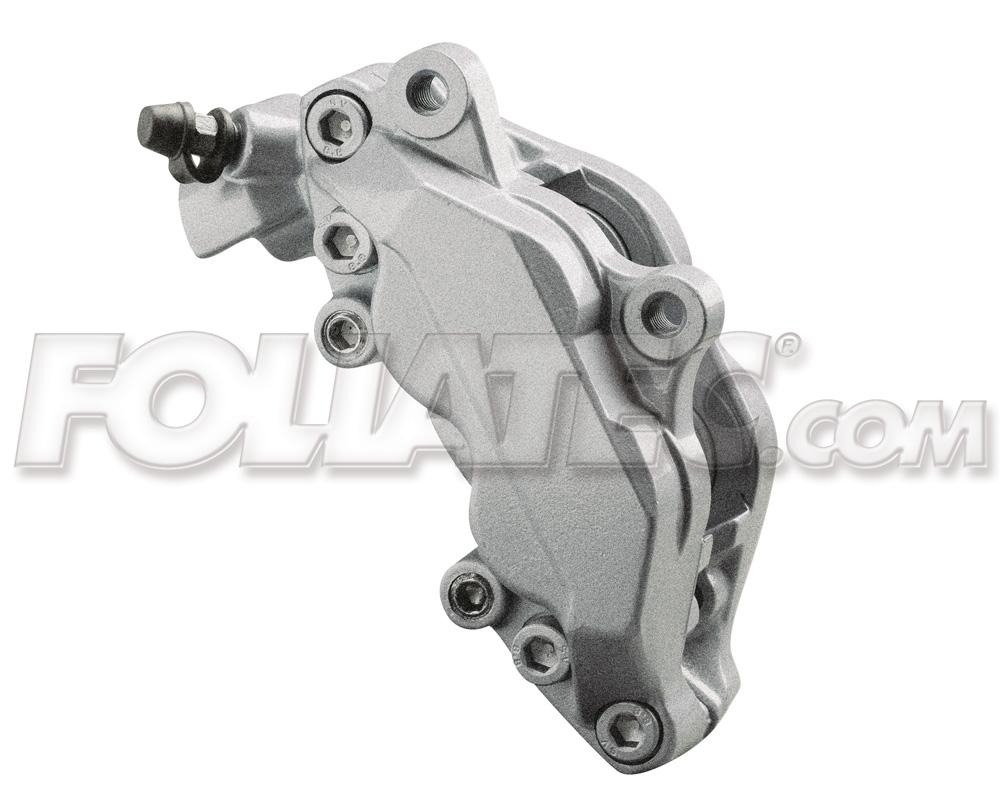 Foliatec Bremssattellack-Set stratossilber/stratos silver metallic (Lack + Brem