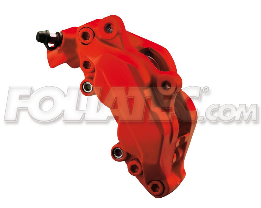 Foliatec Bremssattellack-Set rossorot/racing rosso matt (Lack + Bremsenreiniger