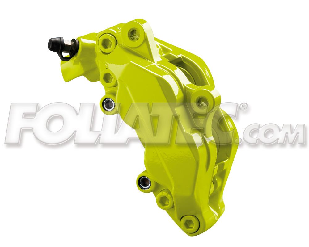 Foliatec Bremssattellack-Set toxic green/giftgrün (Lack + Bremsenreiniger)