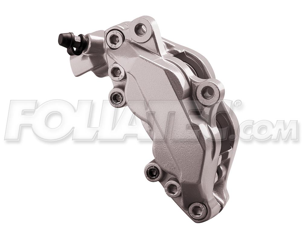 Foliatec Bremssattellack-Set elephant grey metallic (Lack + Bremsenreiniger)