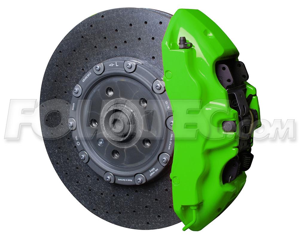 Foliatec Bremssattellack-Set NEON grün/green glänzend + Montageset