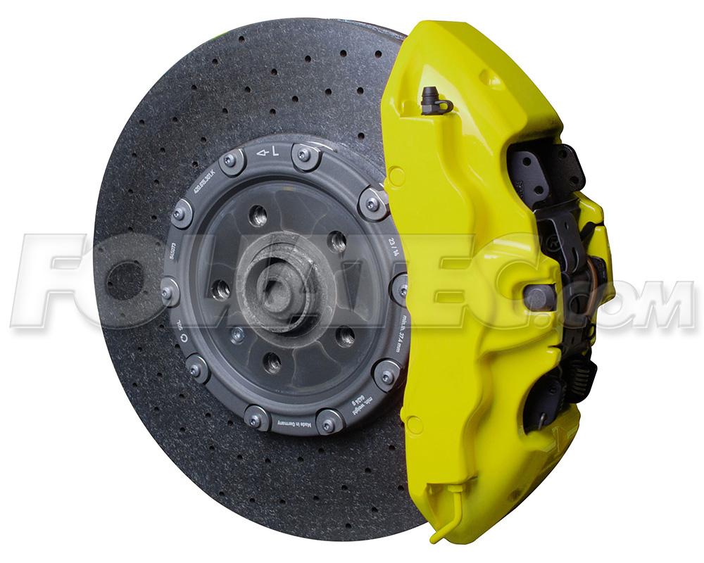 Foliatec Bremssattellack-Set NEON gelb/yellow glänzend + Montageset
