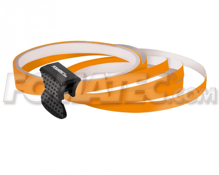 Foliatec PIN-STRIPING FelgenDesign Zierstreifen 4 Stk. orange