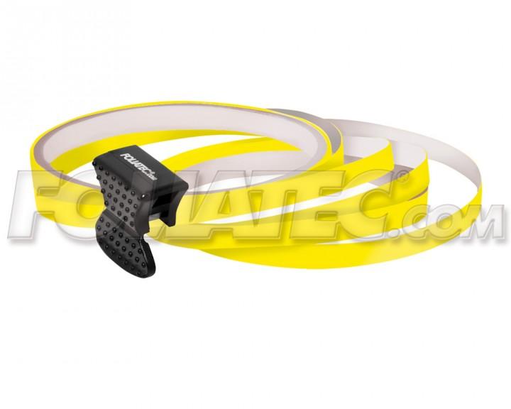 Foliatec PIN-STRIPING FelgenDesign Zierstreifen 4 Stk. gelb