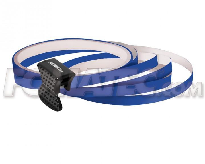 Foliatec PIN-STRIPING FelgenDesign Zierstreifen 4 Stk. dunkelblau/blau