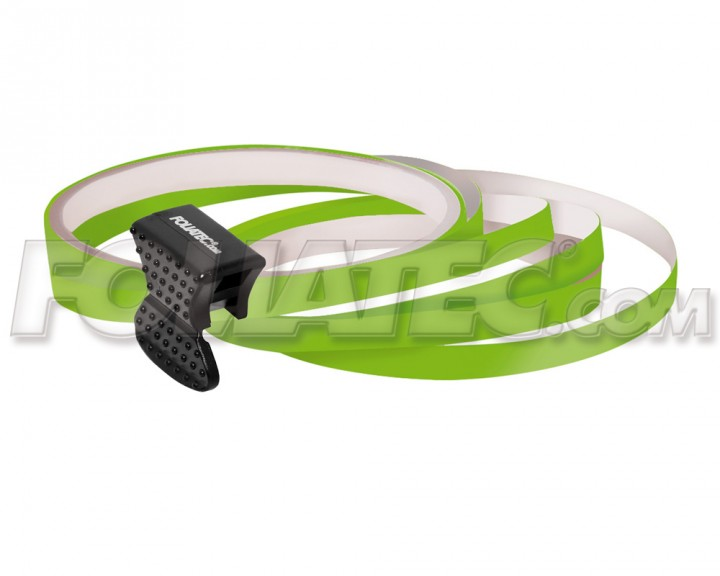 Foliatec PIN-STRIPING FelgenDesign Zierstreifen 4 Stk. powergrün/grün
