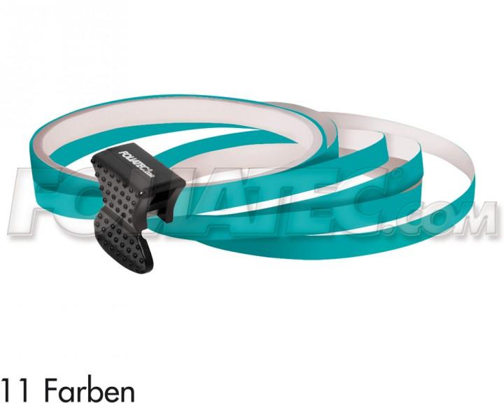 Foliatec PIN-STRIPING FelgenDesign Zierstreifen 4 Stk. türkis