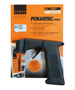 Foliatec Spray Pistole/Sprühpistole/Sprühgriff für Sprühfolie/Felgenfolie