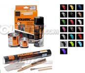 Foliatec Bremssattellack-Set (Farbe nach Wahl) + Montageset