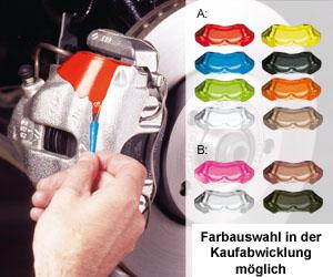 Foliatec Bremssattellack-Set versch. Farben wählbar