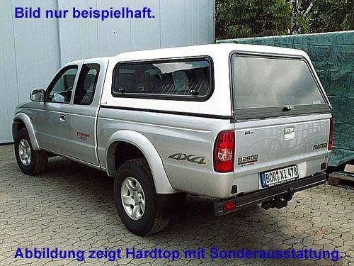 """Hardtop """"Beltop Classic"""" Mazda BT-50 L-Cab/1,5 Kabiner ab 2007"""