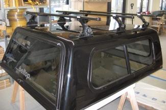 Thule Dachträgersystem für Hardtop (1 Stück), Traglast: 80 kg