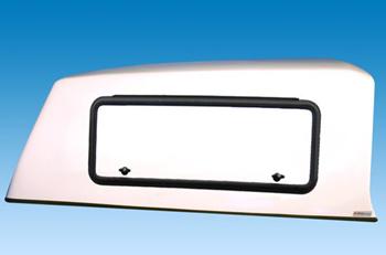 2 seitliche Kofferklappen für Doppelkabiner-Hardtop, abschließbar