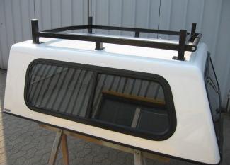 Lastenträger für Doppelkabiner-Hardtop (Stahl, schwarz)