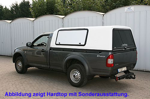 "Hardtop ""Beltop Highline"" Isuzu D-Max Single Cab"
