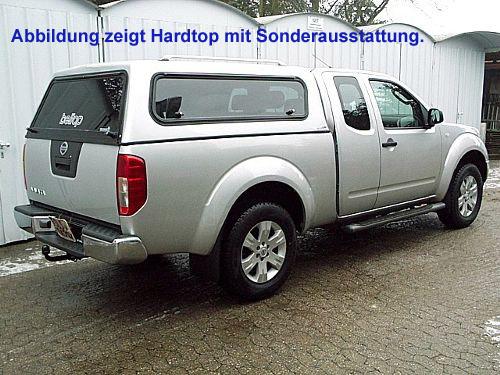 """Hardtop """"Beltop Classic"""" Nissan Navara D40 Doppelkabine"""