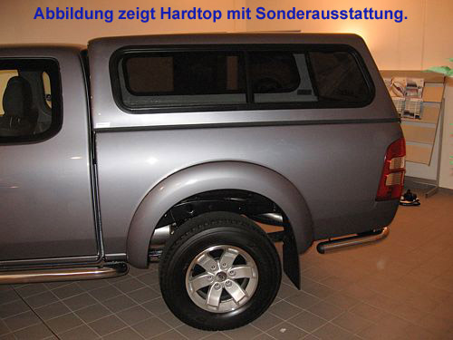 "Hardtop ""Beltop Classic"" Ford Ranger Extra Cab/1,5 Kabiner ab 2012"