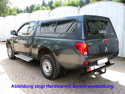"""Hardtop """"Beltop Classic"""" Mitsubishi L200 Club Cab  2006-2010"""