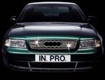 in.pro. Edelstahl-Grill-Leisten/Grillleisten Audi A4 ab 1995, verchromt/Chrom