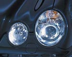 in.pro. Klarglas-Scheinwerfer Mercedes W210