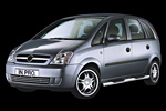 in.pro. Chrom-Schwellerrohre Opel Meriva