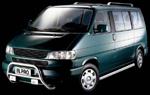 in.pro. Chrom-Schwellerrohre VW Bus T4