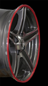 """in.pro. Felgenschutzringe Wheel Protector für Alufelgen 16"""""""
