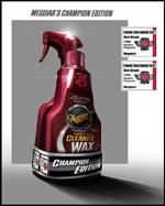 Meguiar's Champion Edition-Set, Cleaner Wax + Quik Detailer