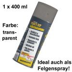 Plasti Dip it SPRÜHFOLIE Felgenfolie Flüssiggummi transparent 1x 400ml