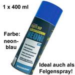 Plasti Dip it SPRÜHFOLIE Felgenfolie Flüssiggummi Neonspray neon-blau 1x 400ml