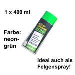 Plasti Dip it SPRÜHFOLIE Felgenfolie Flüssiggummi Neonspray neon-grün 1x 400ml