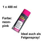 Plasti Dip it SPRÜHFOLIE Felgenfolie Flüssiggummi Neonspray neon-pink 1x 400ml