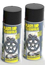 Plasti Dip it SPRÜHFOLIE Felgenfolie schwarz matt 2x 400ml