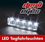 Raid Devil Eyes LED-Tagfahrlicht klar universell 5 LEDs