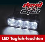 Raid Devil Eyes LED-Tagfahrlicht klar universell 4 LEDs