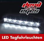 Raid Devil Eyes LED-Tagfahrlicht klar universell 6 LEDs