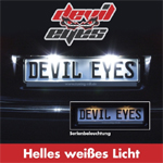Raid Devil Eyes LED-Kennzeichenbeleuchtung universal eintragungsfrei