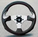 Raid hp Sportlenkrad LESMO 300mm schwarz/silber